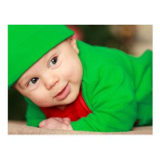 Cute Baby Elf Postcard