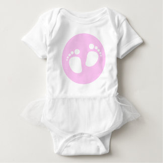 Cute Baby Feet Jumper Dress for Baby