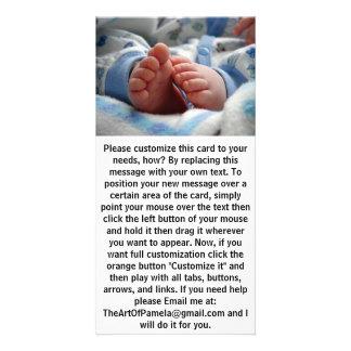 Cute Baby Feet Photo Cards