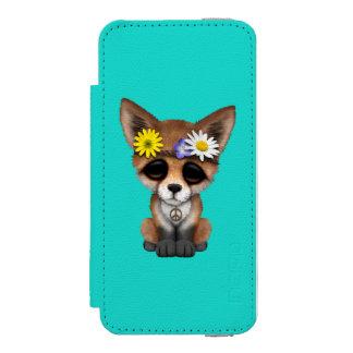 Cute Baby Fox Hippie Incipio Watson™ iPhone 5 Wallet Case