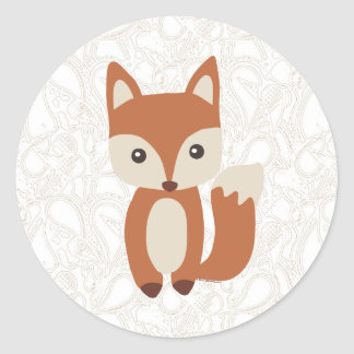 Cute Baby Fox Stickers