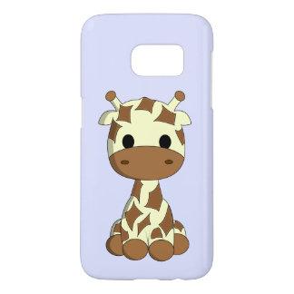 Cute baby giraffe cartoon kids