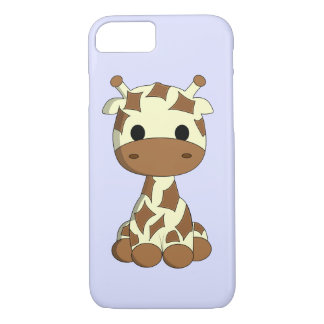 Cute baby giraffe cartoon kids iPhone 8/7 case