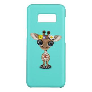 Cute Baby Giraffe Hippie Case-Mate Samsung Galaxy S8 Case