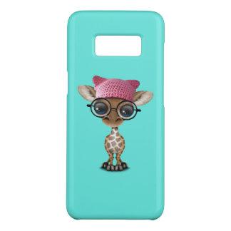 Cute Baby Giraffe Wearing Pussy Hat Case-Mate Samsung Galaxy S8 Case