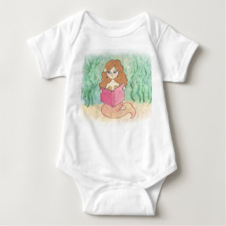 cute baby girl creeper with mermaid size 12 months