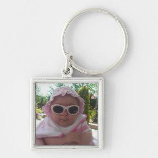 Cute Baby Girl Key Ring