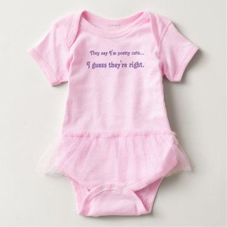 Cute Baby Girl Tutu Baby Bodysuit