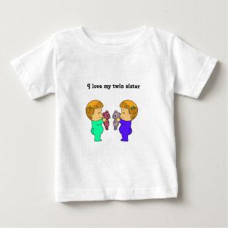 Cute baby Girl twins T-shirt