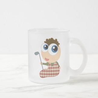 Cute Baby Golfer Golfing Gift Coffee Mug
