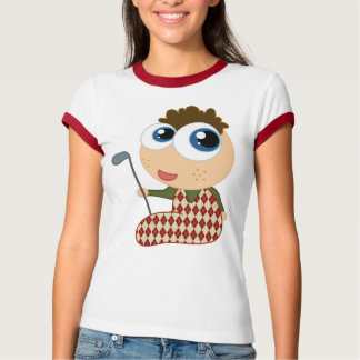 Cute Baby Golfer Golfing Gift T-shirt