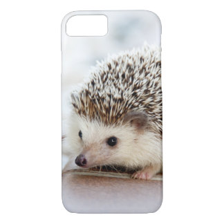 Cute Baby Hedgehog Animal iPhone 8/7 Case