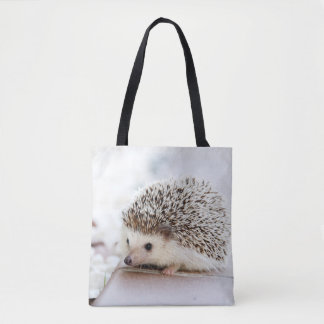 Cute Baby Hedgehog Animal Tote Bag