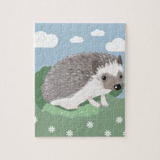 Cute Baby Hedgehog Jigsaw Jigsaw Puzzle