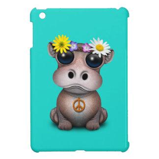 Cute Baby Hippo Hippie Case For The iPad Mini
