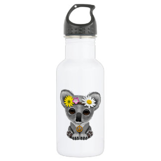 Cute Baby Koala Hippie 532 Ml Water Bottle