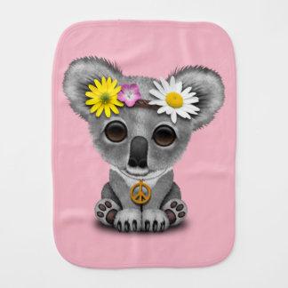 Cute Baby Koala Hippie Burp Cloth