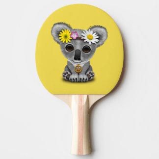 Cute Baby Koala Hippie Ping Pong Paddle