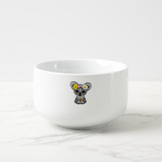 Cute Baby Koala Hippie Soup Bowl With Handle