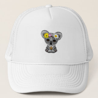 Cute Baby Koala Hippie Trucker Hat