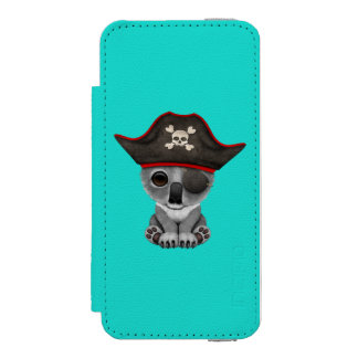 Cute Baby Koala Pirate Incipio Watson™ iPhone 5 Wallet Case