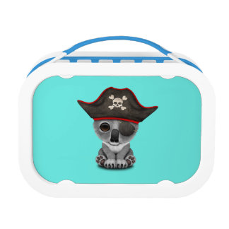 Cute Baby Koala Pirate Lunch Box