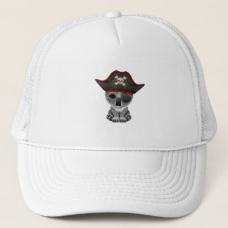 Cute Baby Koala Pirate Trucker Hat