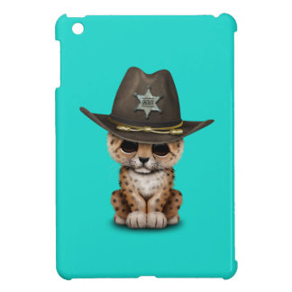 Cute Baby Leopard Cub Sheriff Case For The iPad Mini
