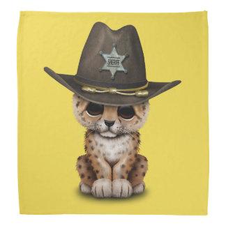 Cute Baby Leopard Cub Sheriff Do-rags