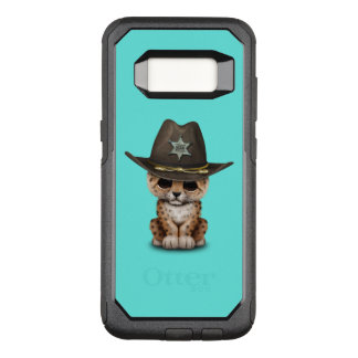 Cute Baby Leopard Cub Sheriff OtterBox Commuter Samsung Galaxy S8 Case