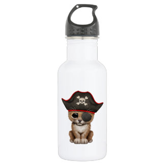 Cute Baby Lion Cub Pirate 532 Ml Water Bottle