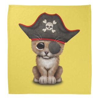 Cute Baby Lion Cub Pirate Bandana