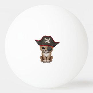 Cute Baby Lion Cub Pirate Ping Pong Ball