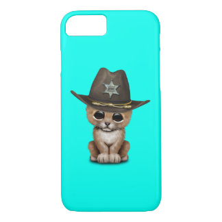 Cute Baby Lion Cub Sheriff iPhone 8/7 Case
