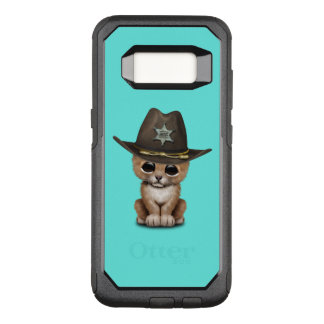 Cute Baby Lion Cub Sheriff OtterBox Commuter Samsung Galaxy S8 Case