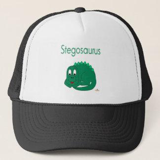 Cute Baby Lt Green Dinosaur Stegosaurus Trucker Hat