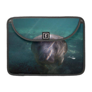 Cute baby manatee Macbook sleeve