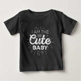Cute Baby (Mom And Baby Couple) Baby T-Shirt
