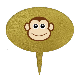 monkey face template for cake - funny baby face decor