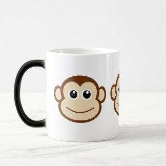 Cute Baby Monkey Face Magic Mug