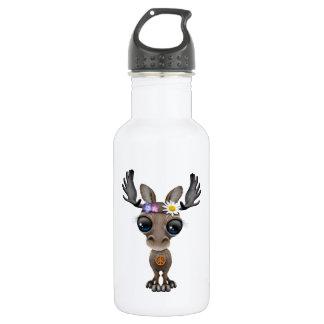 Cute Baby Moose Hippie 532 Ml Water Bottle