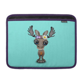 Cute Baby Moose Hippie Sleeve For MacBook Air