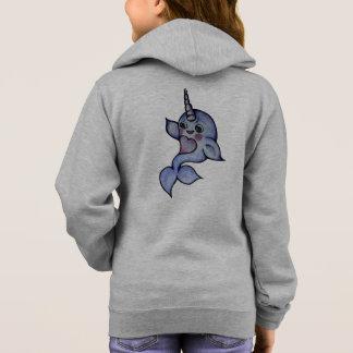 Cute baby narwhal hoodie