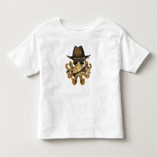 Cute Baby Octopus Zombie Hunter Toddler T-Shirt
