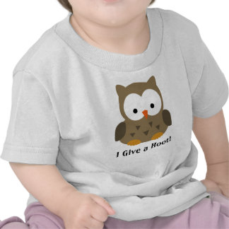 Cute Baby Owl Personalized Tshirts