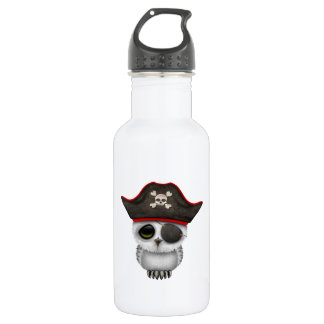 Cute Baby Owl Pirate 532 Ml Water Bottle