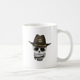 Cute Baby Owl Sheriff Coffee Mug