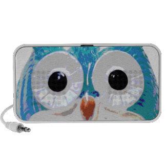 Cute Baby Owl iPod Speakers