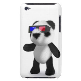 Cute Baby Panda 3d Glasses iPod Touch Cover