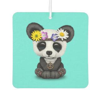 Cute Baby Panda Hippie Car Air Freshener